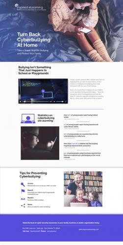 cyberbullying_landing_screenshot